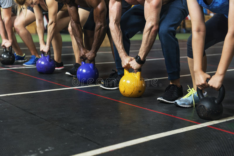 Active People Sport Workout Concept. Active People Sport Workout Fitness royalty free stock image