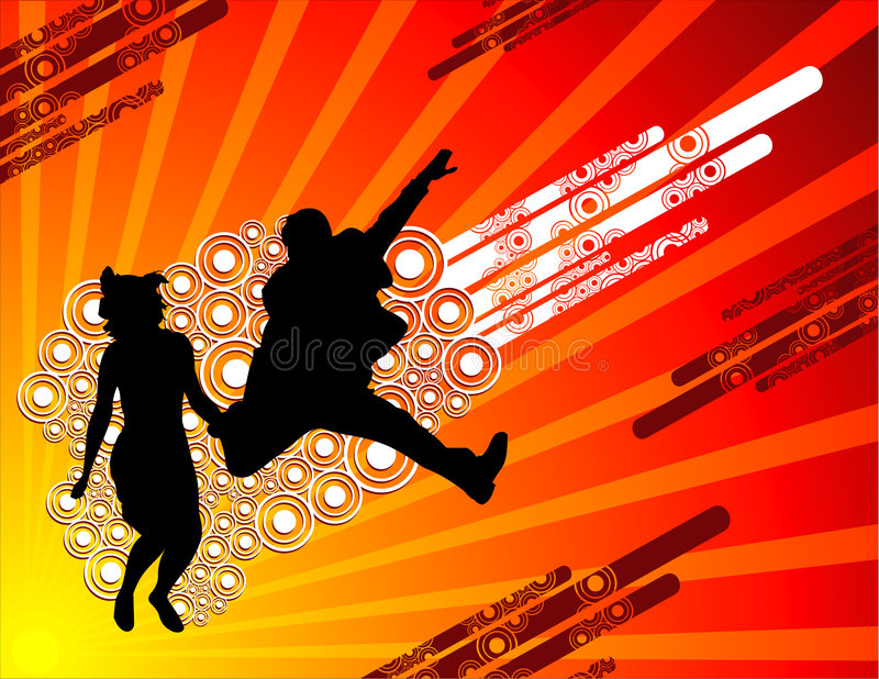 Download Active people vector stock vector. Image of friends, party - 4855303