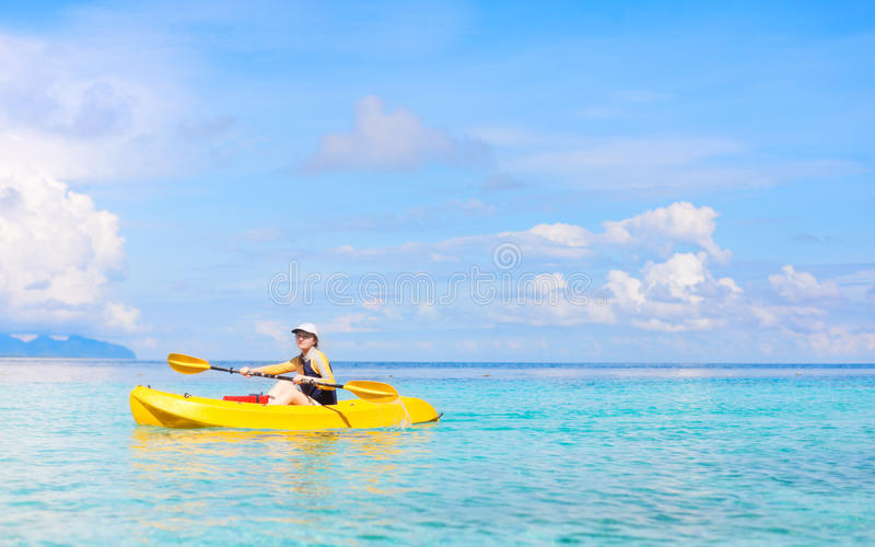 Download Active vacation stock image. Image of kayaking, female - 26535495