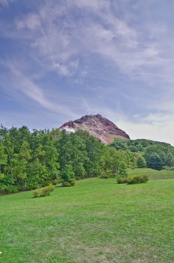 Download Active volcano in Japan stock photo. Image of akan, beautiful - 20701674