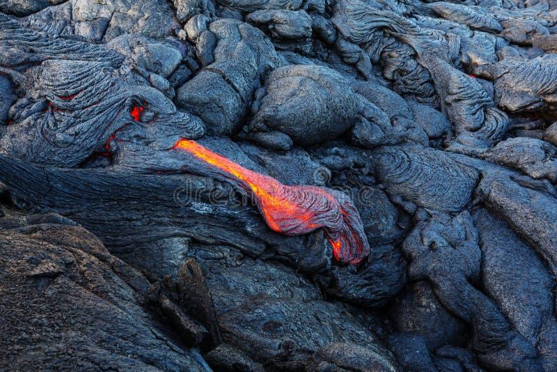 Active volcano. Kilauea Active Volcano on Big Island, Hawaii stock photography