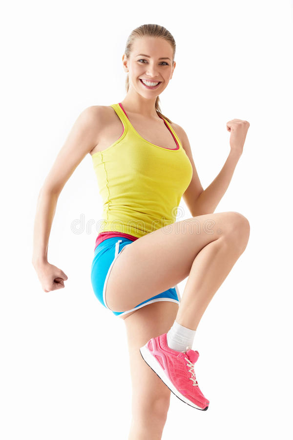 Download Active woman stock photo. Image of people, exercising - 31369862