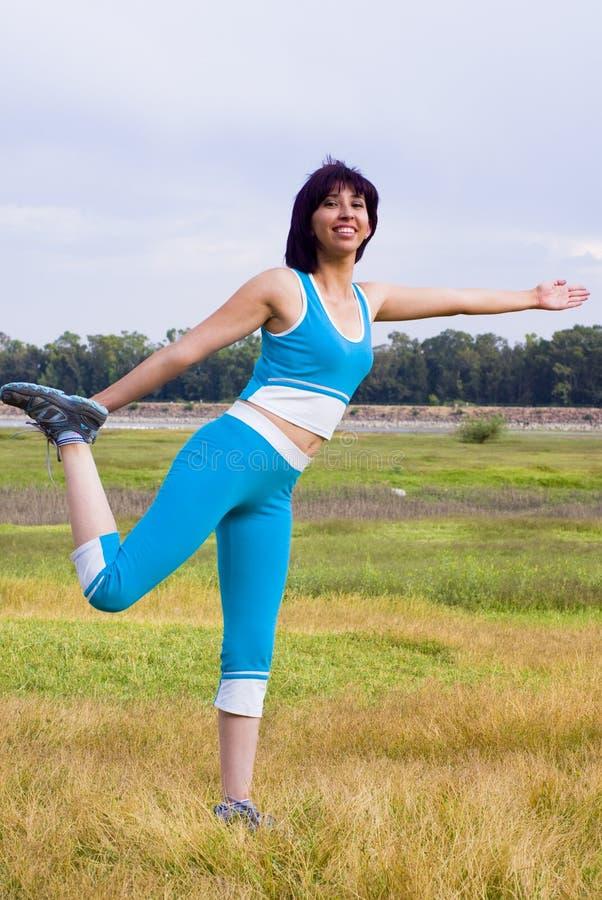 Free Active Women Exercising Royalty Free Stock Image - 10606526