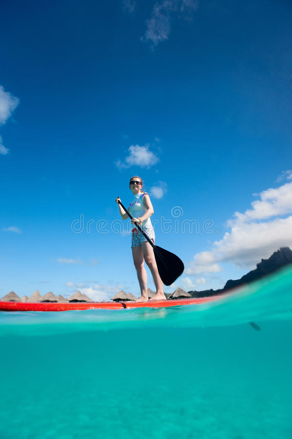 Download Active Young Woman On Vacation Stock Images - Image: 34021864