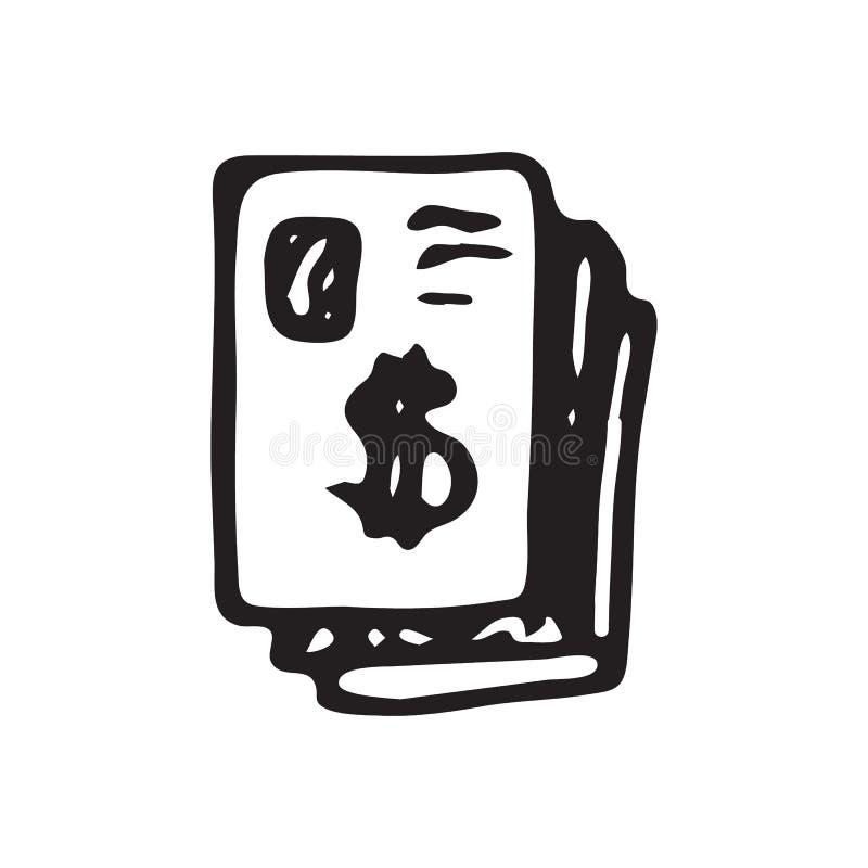 Actividad bancaria, negro, espacio en blanco, bloque, azul, tablero, libro, negocio, calendario, tarjeta ilustración del vector