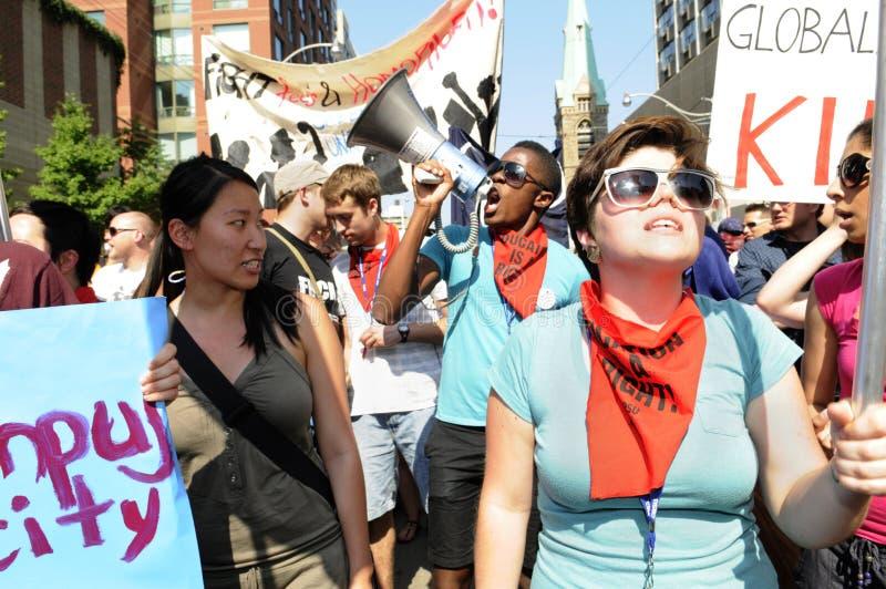 Activistas adolescentes. foto de stock royalty free