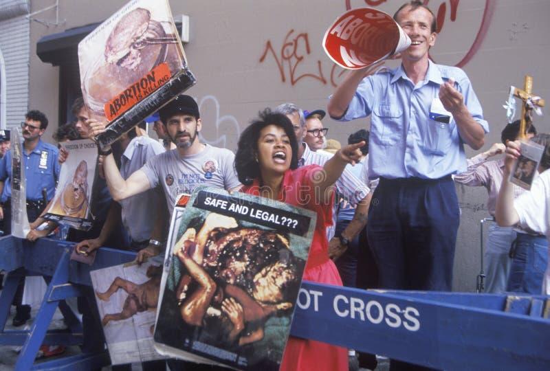 Activistas do Anti-abortion fotos de stock
