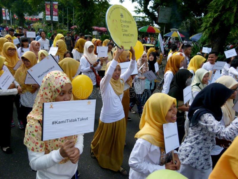 Activistes de Cancer photo stock