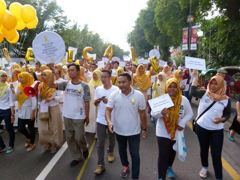 Activistes de Cancer photographie stock libre de droits