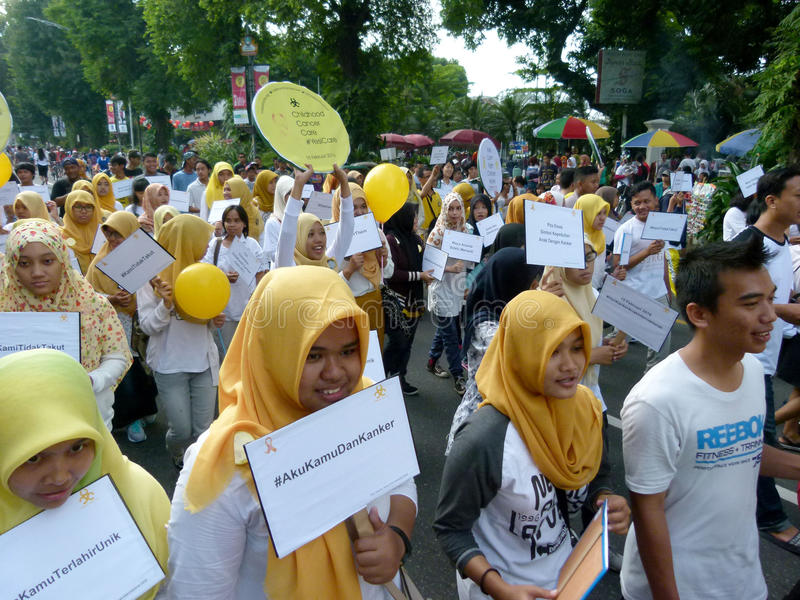 Activistes de Cancer images libres de droits