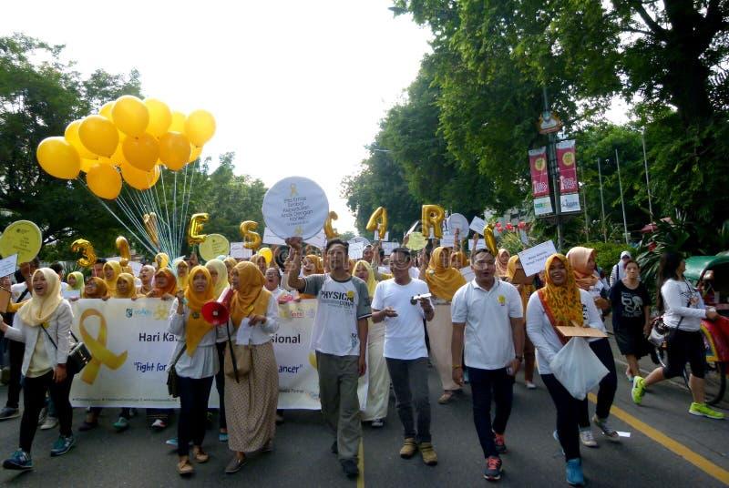 Activistes de Cancer image libre de droits