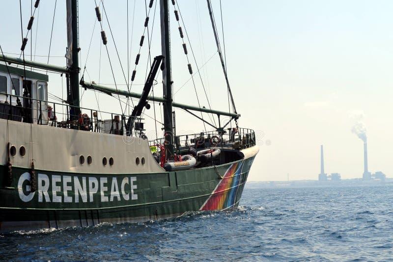 Activistes de Greenpeace photo stock