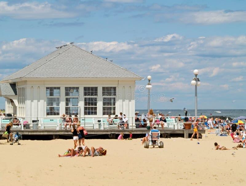 Activité de plage photos stock
