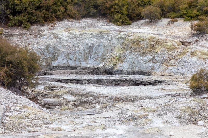 activité géothermique chez Rotorua au Nouvelle-Zélande images stock