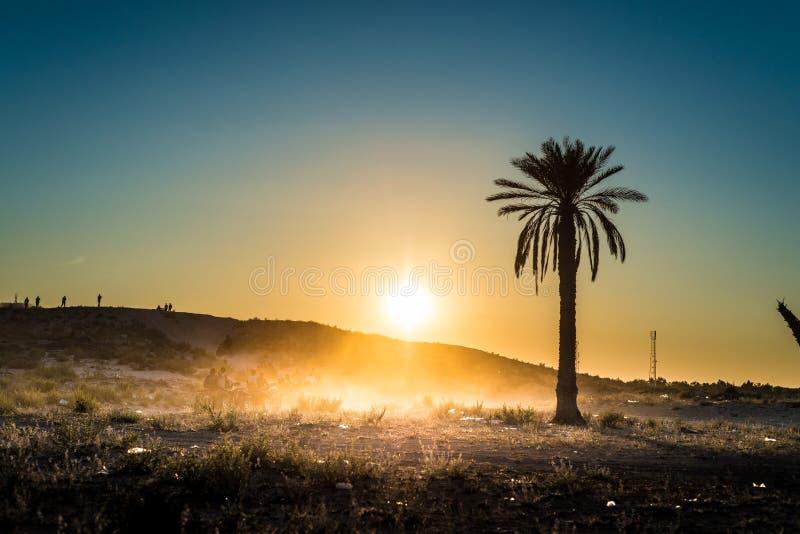 Activités de désert en Tunisie images libres de droits