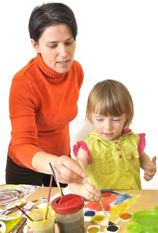 Download Activity in preschool stock image. Image of face, girl - 15970393