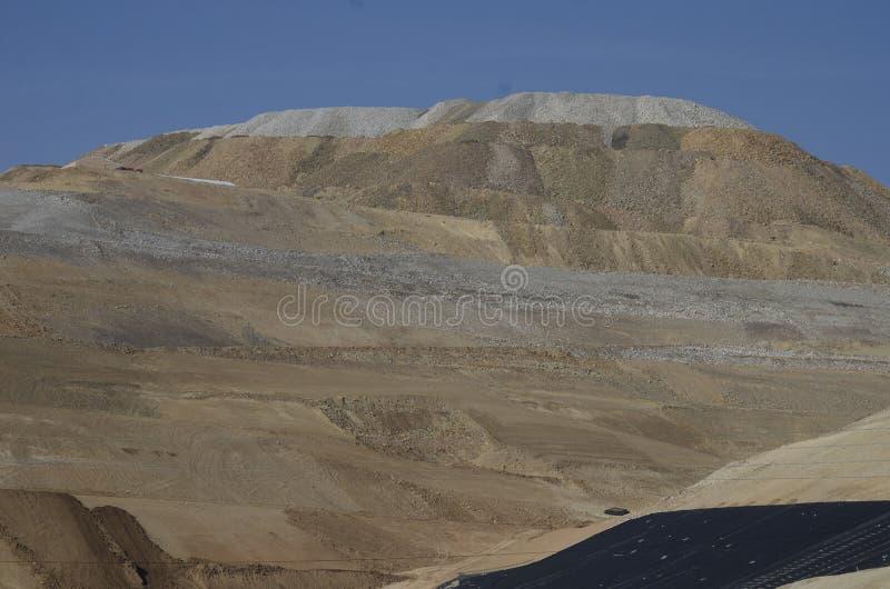 Activre-Goldförderung gelegen in Victor Colorado stockfotografie