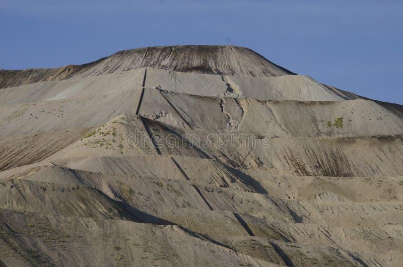 Activre-Goldförderung gelegen in Victor Colorado stockfotos