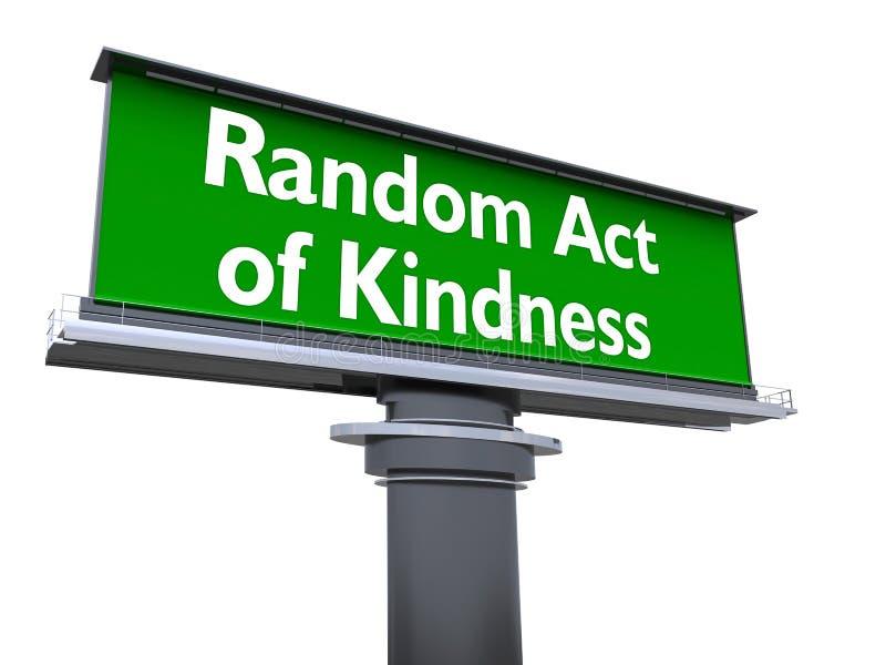Acto al azar de la amabilidad libre illustration