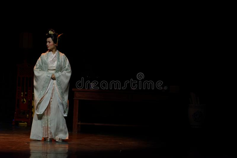 Acto de princesa Louis-The en segundo lugar: la noche del drama histórico ejército-grande, ` Yangming ` de tres noches foto de archivo