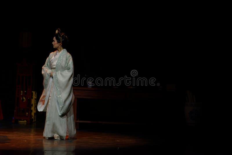 Acto de princesa Louis-The en segundo lugar: la noche del drama histórico ejército-grande, ` Yangming ` de tres noches imágenes de archivo libres de regalías