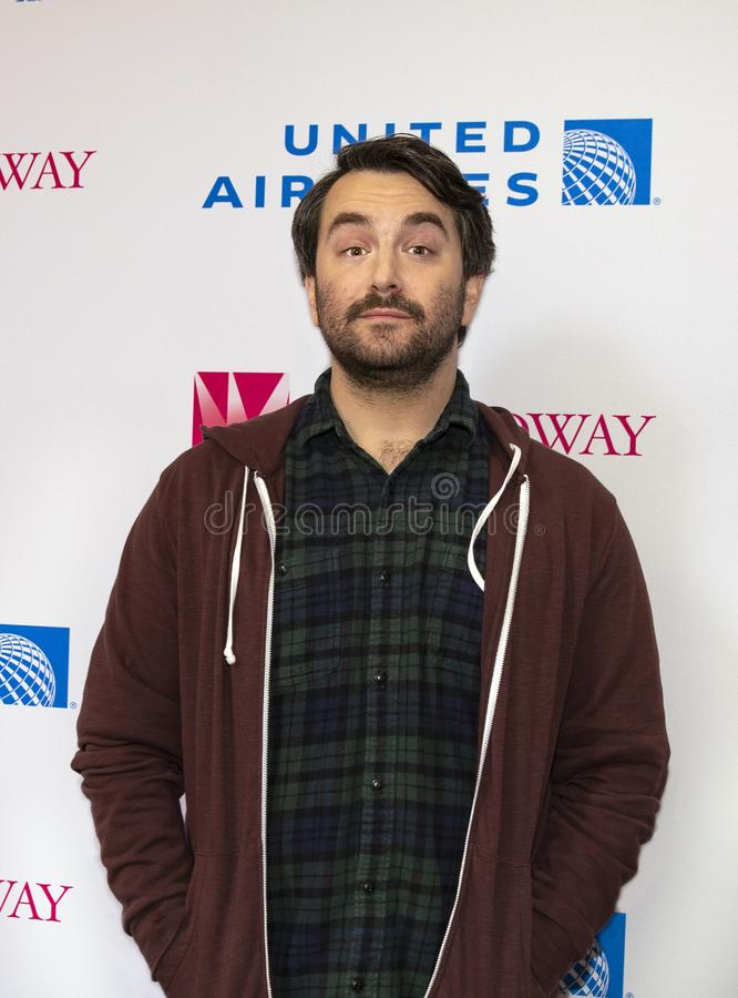 Alex Brightman at 2019  Stars in the Alley stock photography