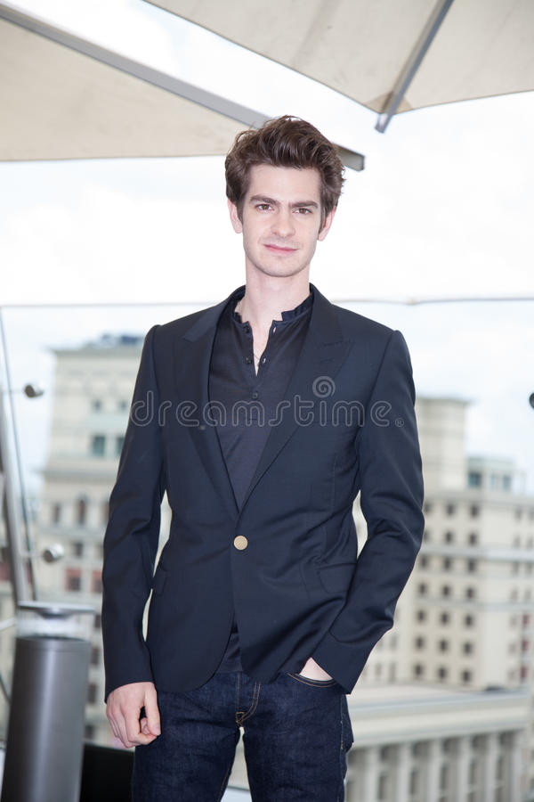 Download Actor Andrew Garfield editorial photography. Image of amazing - 26299277