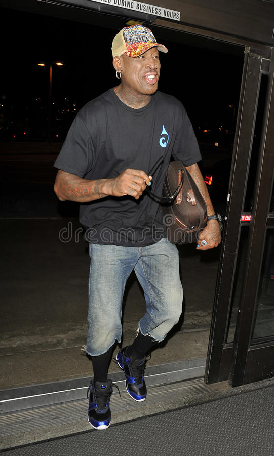 Download Actor And Baseball Star Dennis Rodman At LAX Editorial Image - Image: 18456185