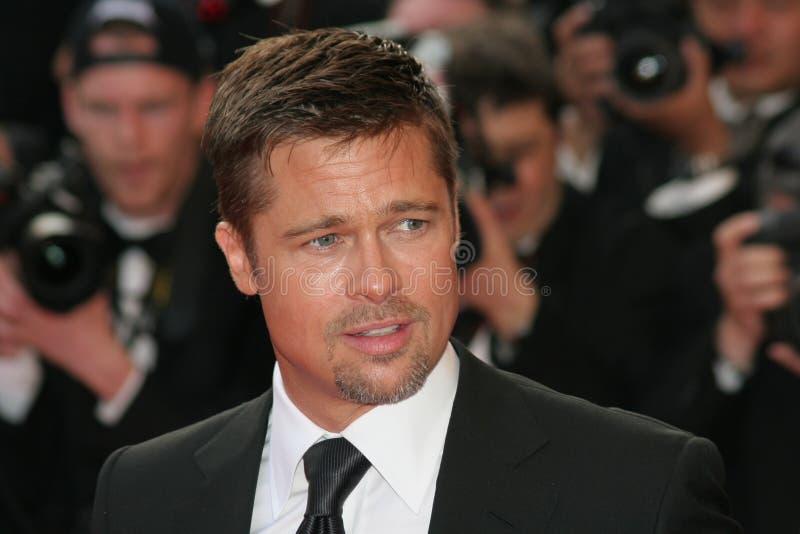Actor Brad Pitt stock image