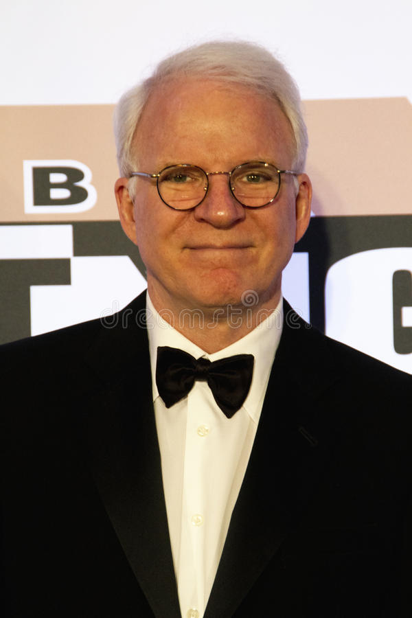 Celebrity Actor Comedian Steve Martin stock images