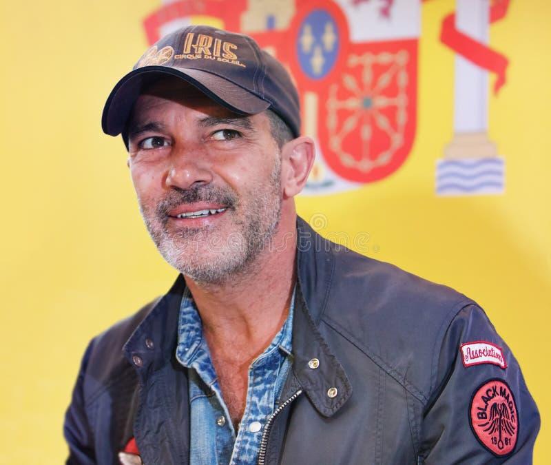 Actor de Antonio Banderas foto de archivo