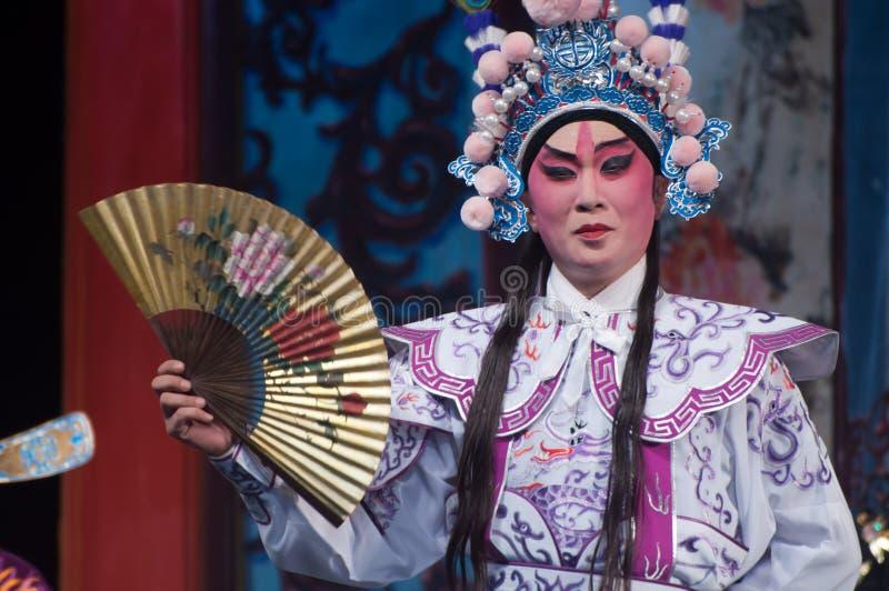 Actor de la ópera de Yue del chino imagen de archivo libre de regalías