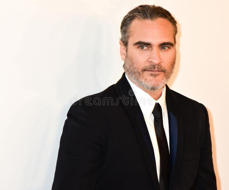 Joaquin Phoenix at movie premiere of Joker at Toronto International Film Festival 2019 royalty free stock image