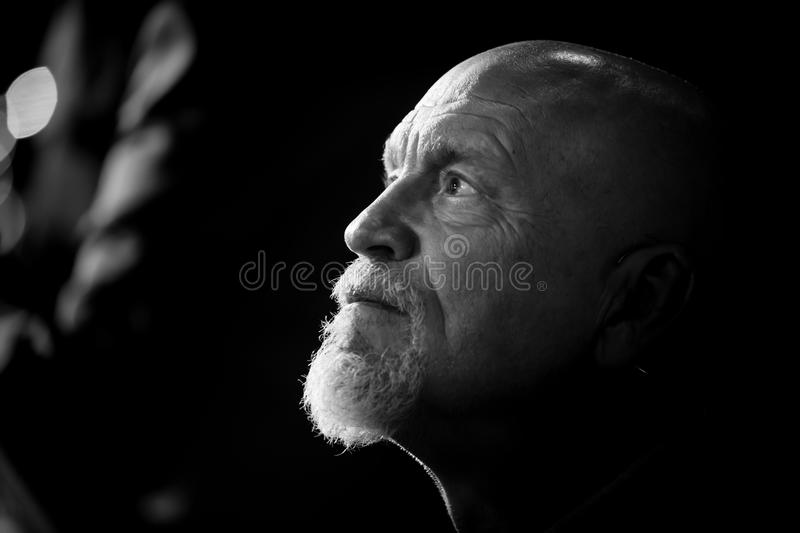 Actor John Malkovich. KIEV, UKRAINE - Jul 01, 2018: Actor John Malkovich visited Kiev and took part in the symphony concert The Way of Friendship stock image