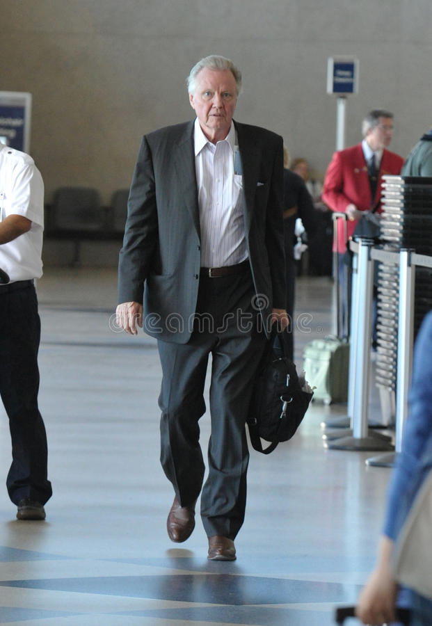 Download Actor John Voight Is Seen At LAX Editorial Photography - Image of angeles, transit: 18571702