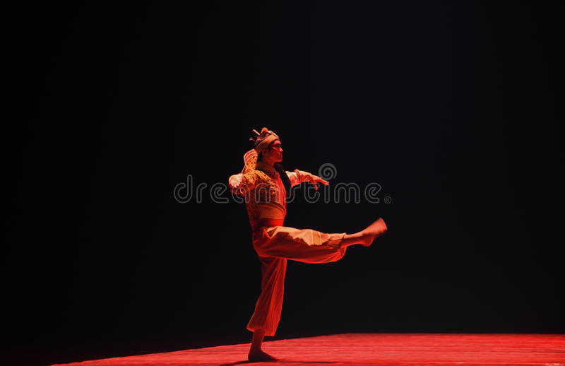 "Actor for a manly role in Chinese operas -Dance drama""Mei Lanfang"" stock photography"