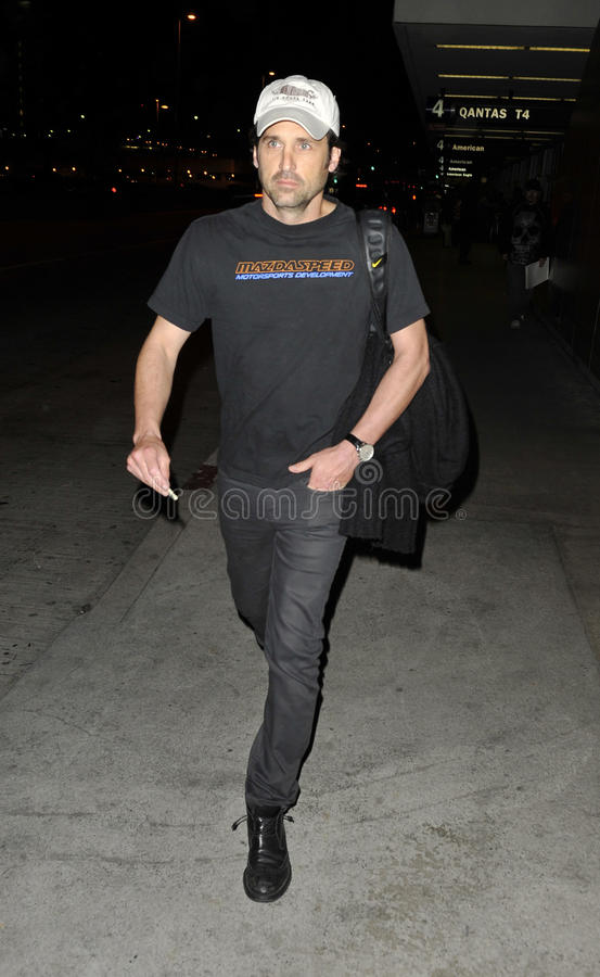 Download Actor Patrick Dempsey At LAX Airport Editorial Photo - Image: 20732776