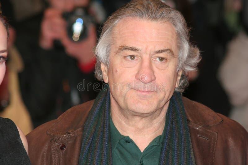 Actor Robert DE Niro stock afbeeldingen