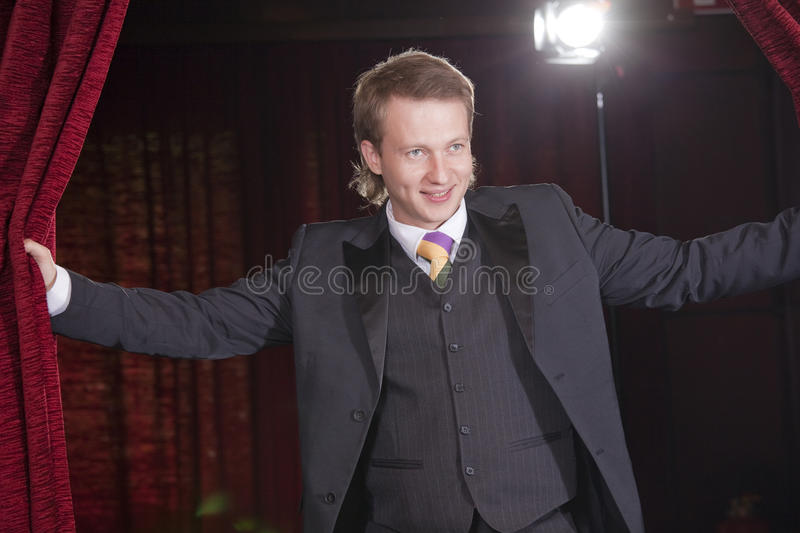 Download Actor in spotlight stock photo. Image of actor, event - 15679718