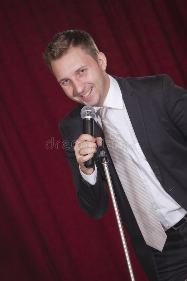 Download Actor on stage stock photo. Image of business, scenario - 15679940