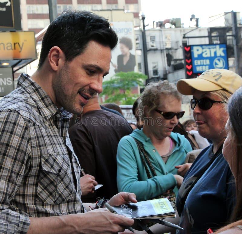 Download Actor Steve Kazee editorial photo. Image of steve, music - 24754161