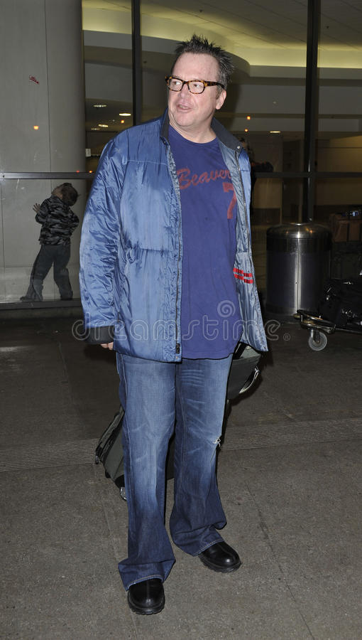 Actor Tom Arnold at LAX
