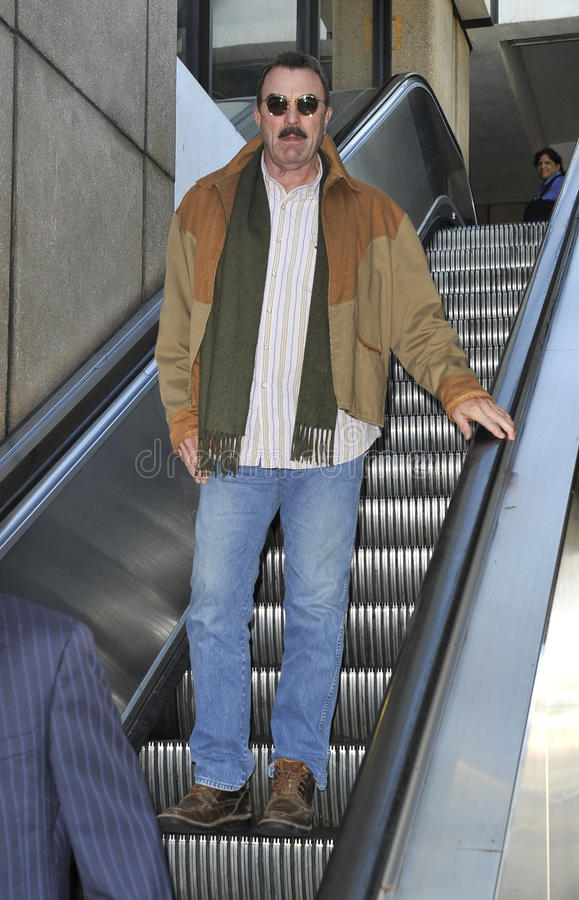 Download Actor Tom Selleck Is Seen At LAX Editorial Stock Photo - Image: 18757753