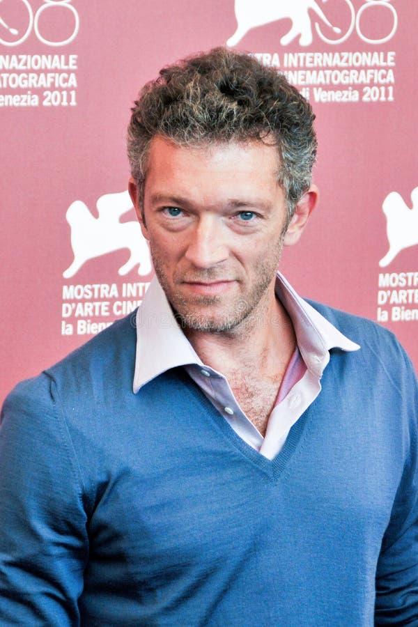 Actor Vincent Cassel fotografía de archivo
