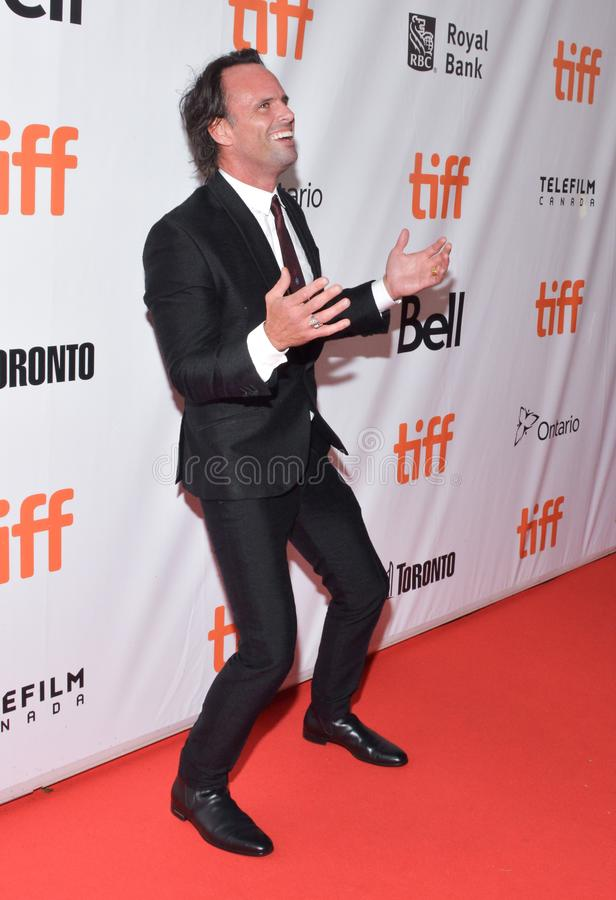 Actor Walton Goggins at premiere of Three christs film at Roy Thomson Hall at toronto international film festival royalty free stock photography