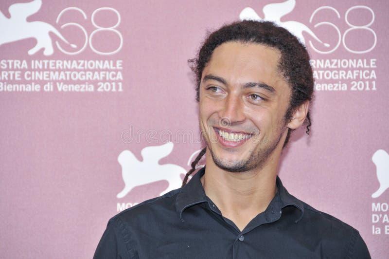 Actoren Jonas Carpignano royalty-vrije stock fotografie