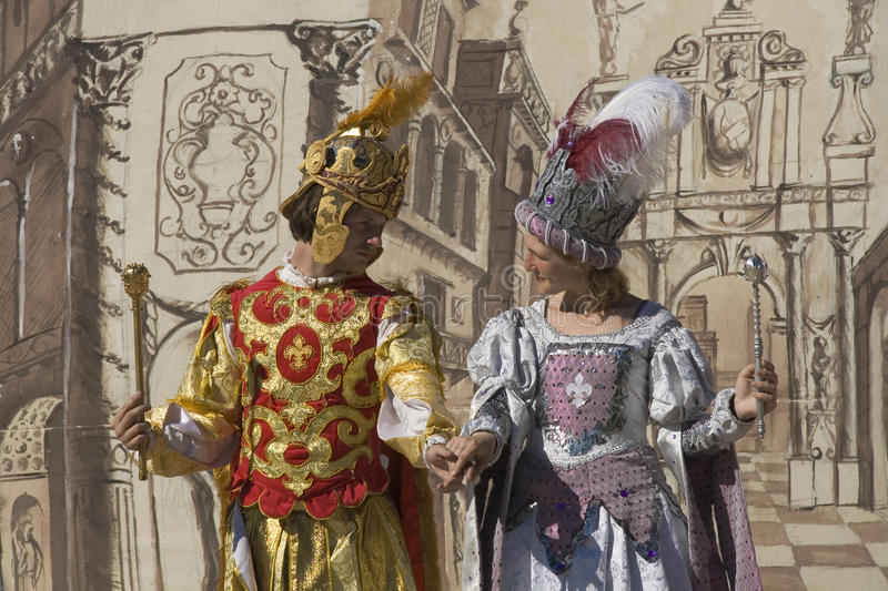 Download Actors Of Medieval Theater Editorial Photography - Image: 15038872