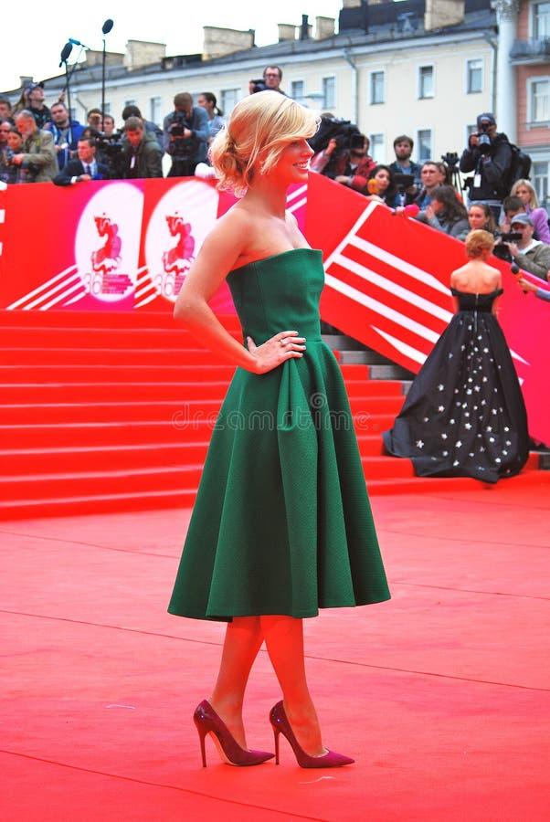 Download Actress Anastasiya Zadorozhnaya At XXXVI Moscow International Film Festival Editorial Image - Image: 41869995