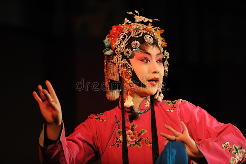 The actress of China opera royalty free stock images