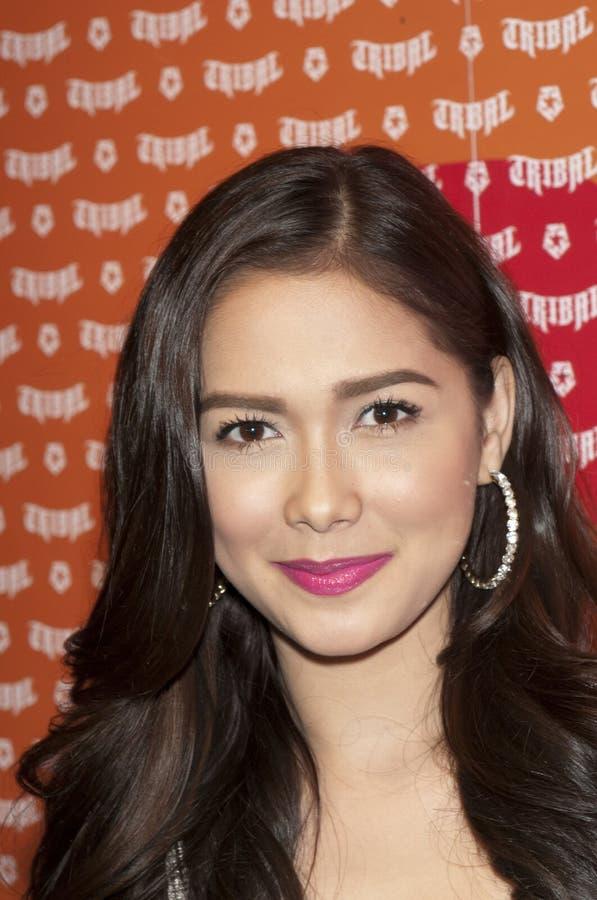 Actress Maja Salvador royalty free stock photo
